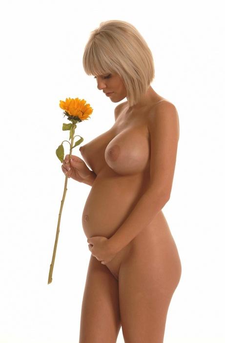 фото голых беременных красивых девушек