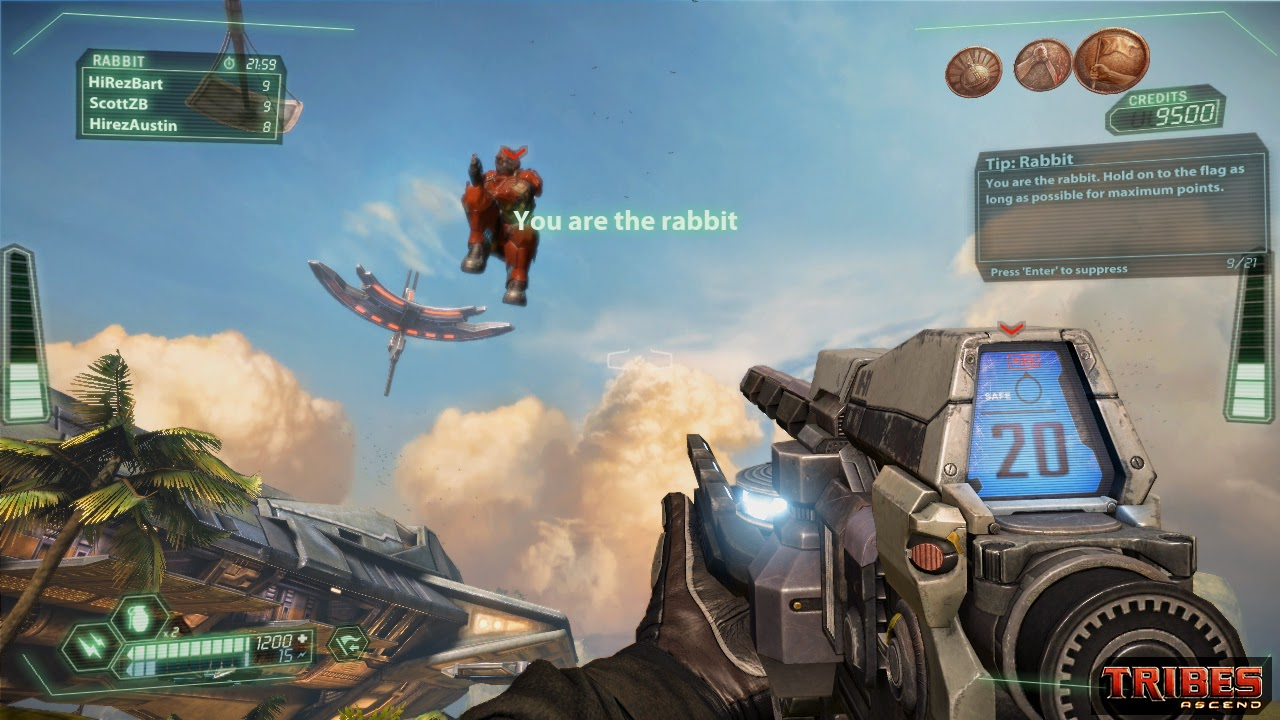 Tribes: Ascend review and screenshots