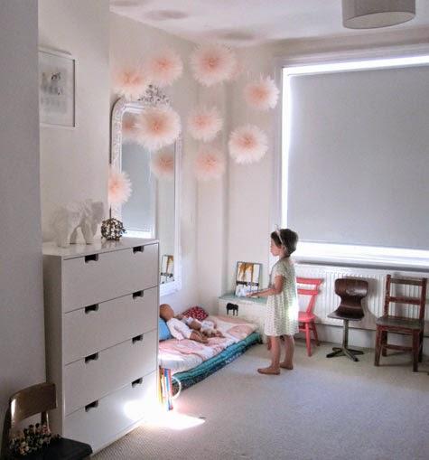 Decorar pompones - Decorar cuarto de bebe ...