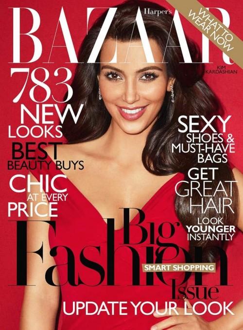 Kim Kardashian Harpers Bazaar Pictures
