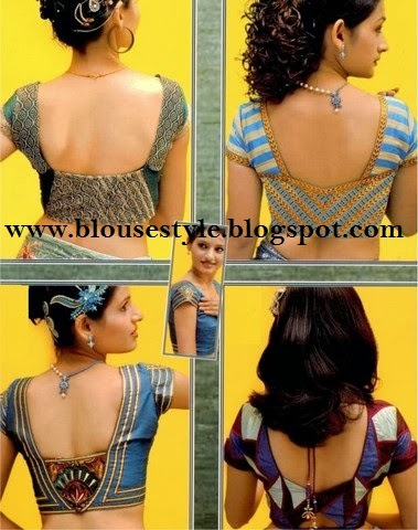 all Indian blouse back neck pattern