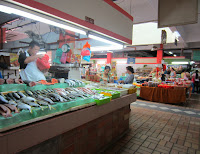 TTDI wet market Kuala Lumpur