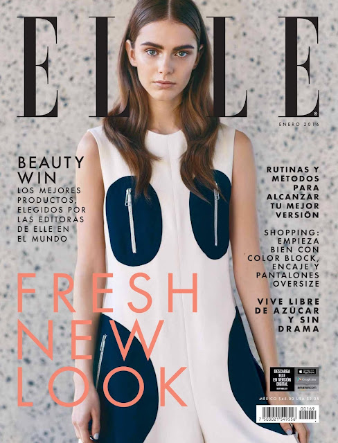 Fashion Model, @ Anja Cihoric - Elle Mexico, January 2016