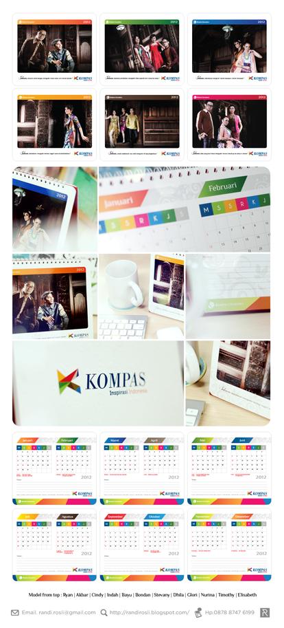 Contoh Desain Kalender