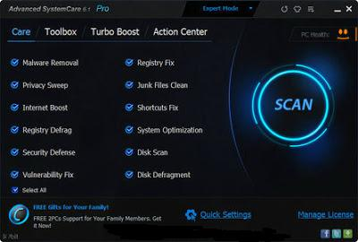 ADVANCED SYSTEMCARE PRO 6.1 DOWNLOAD WITH FULL SERIAL KEYS