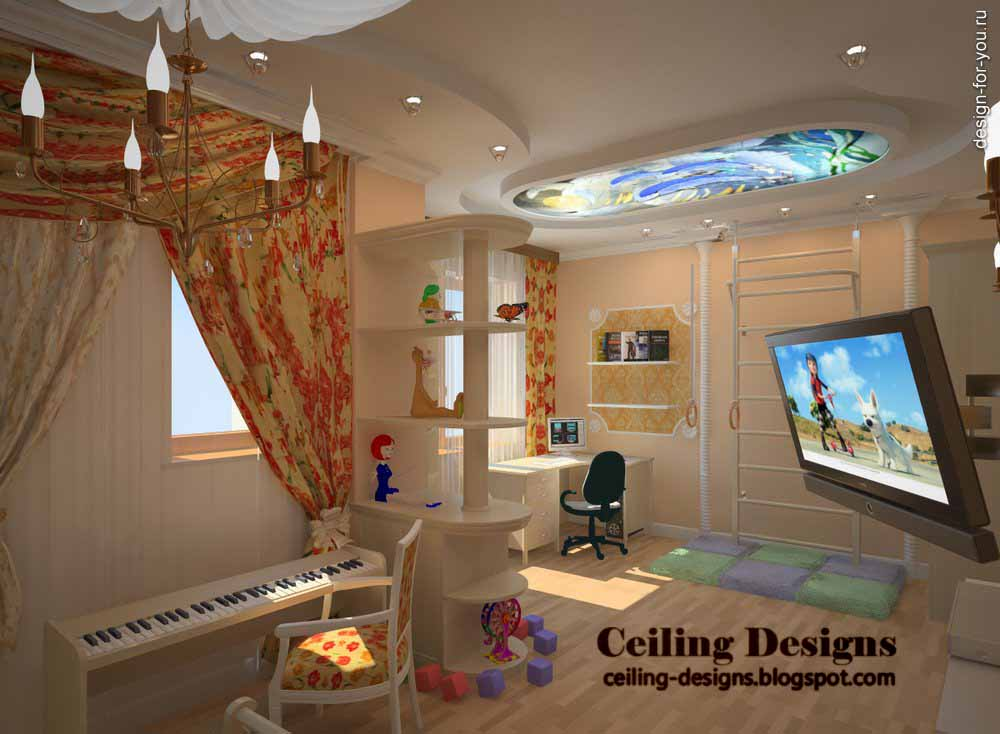 kids room collection of ceilings which designed for kids room