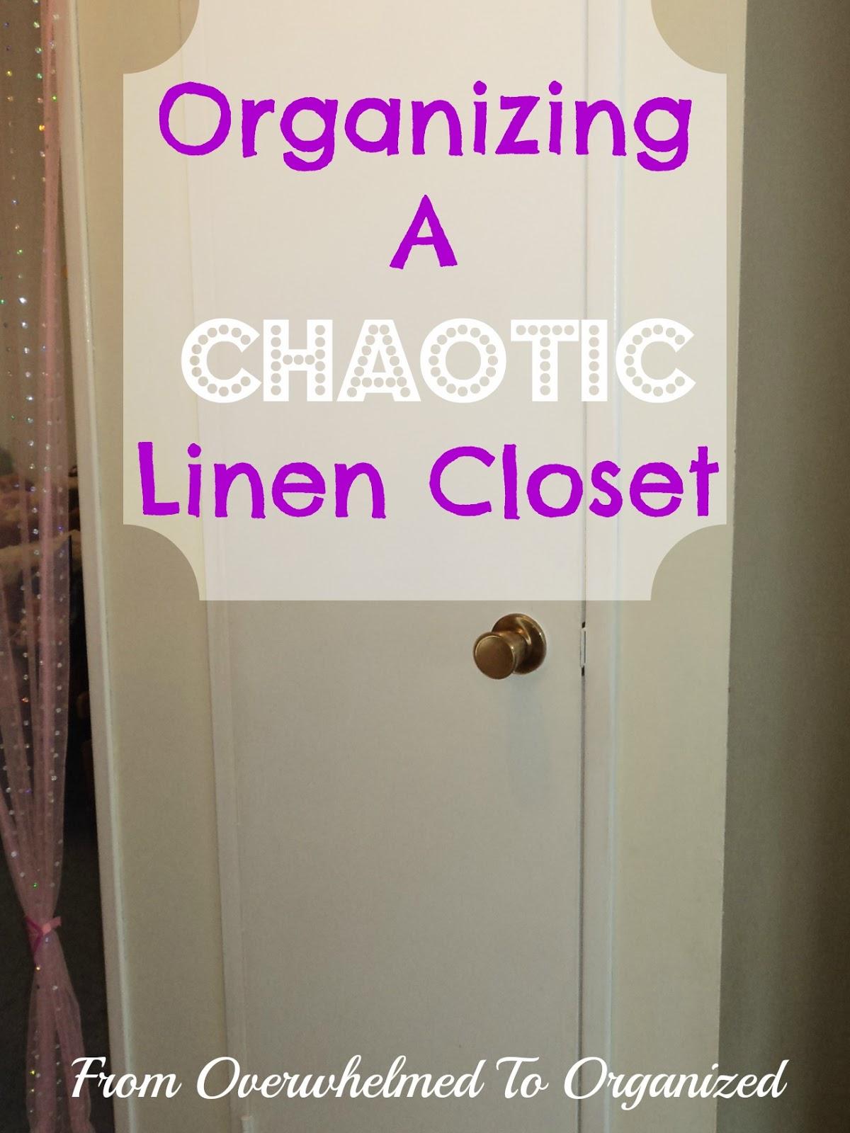 Organizing My Linen Closet Part 2 The Full Reveal