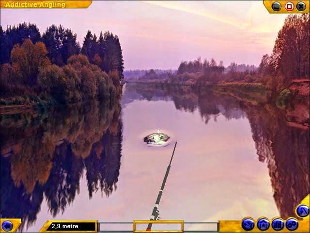 صورة من لعبة صيد السمك 2014