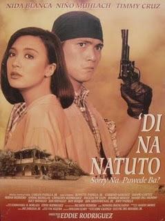 Di na Natuto (Sorry na, puede ba?) [Robin Padilla and Sharon Cuneta] Poster