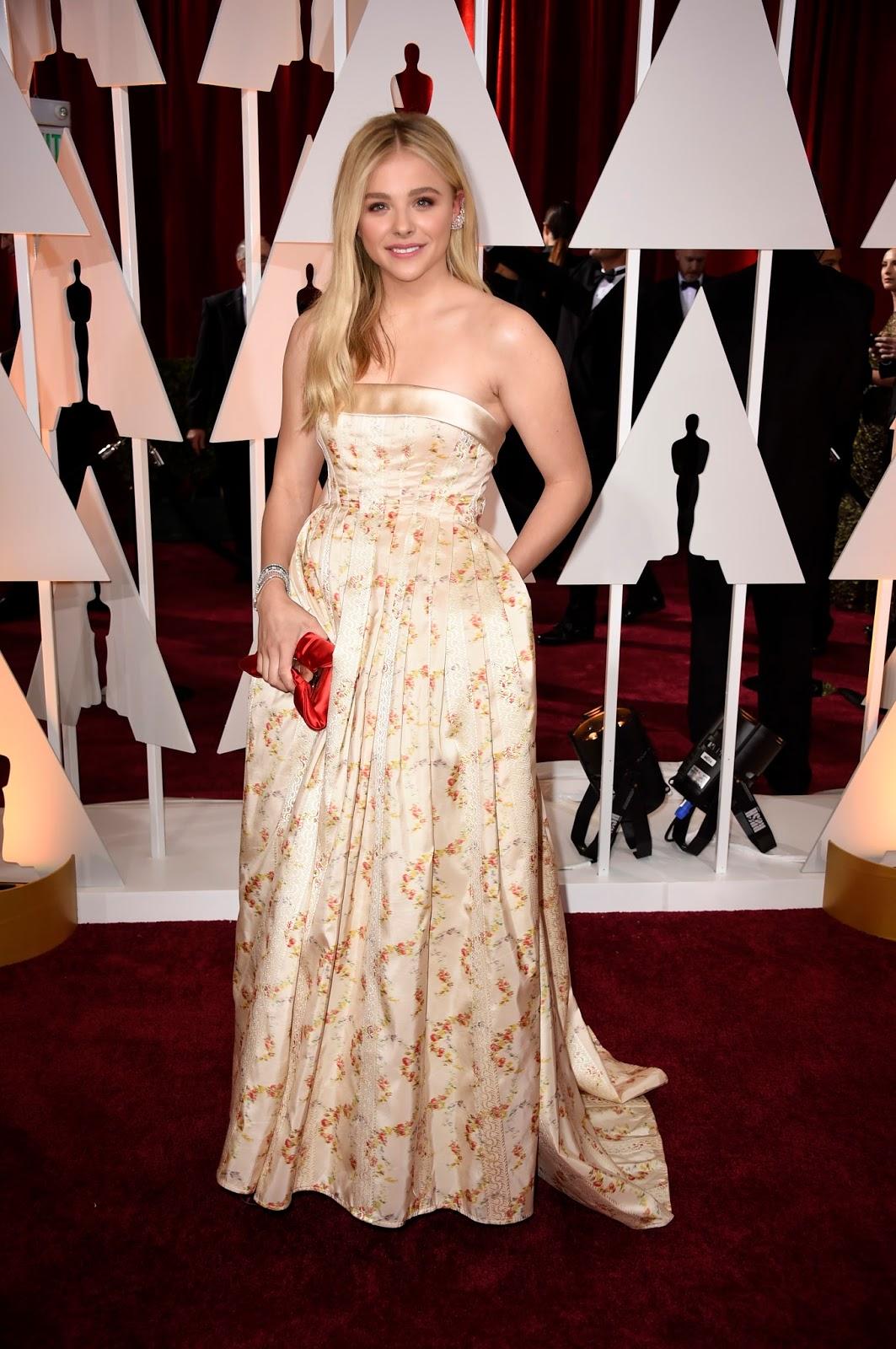 Chloe Grace Moretz Academy Awards 2015 Oscars