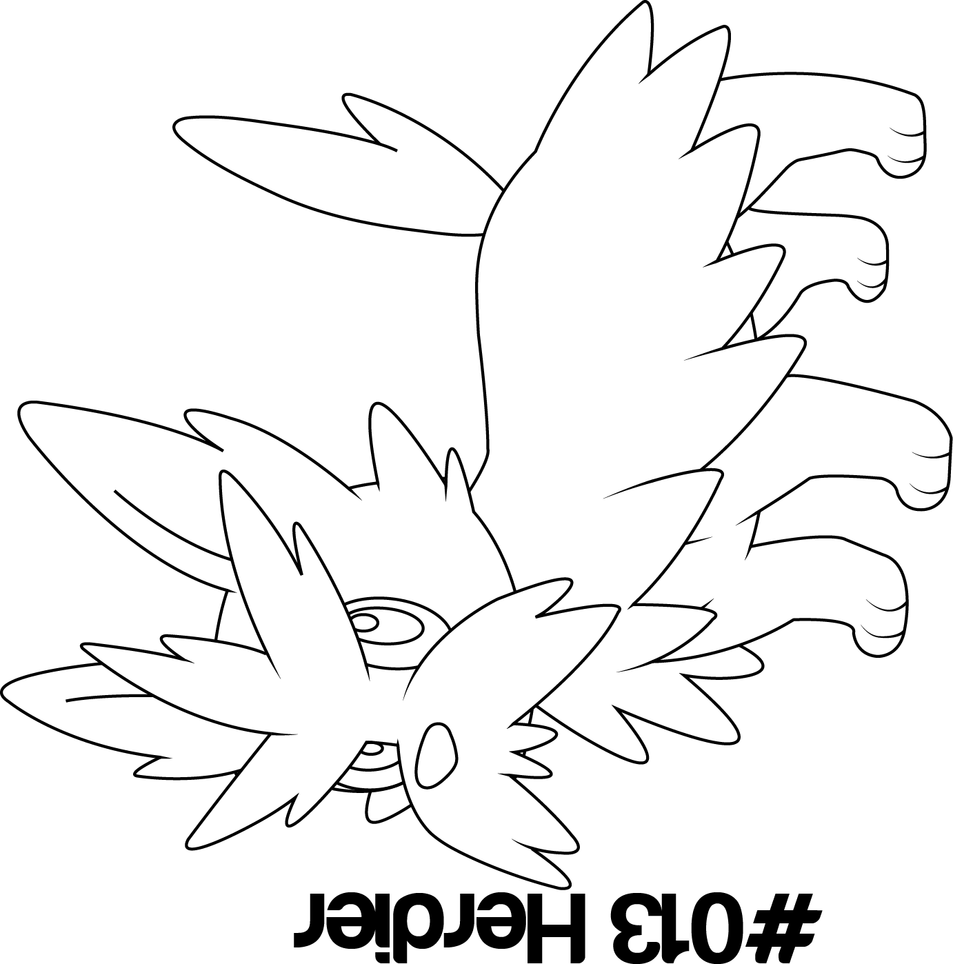 Herdier pokemon coloring pages - Herdier Pokemon Coloring Pages Gallery
