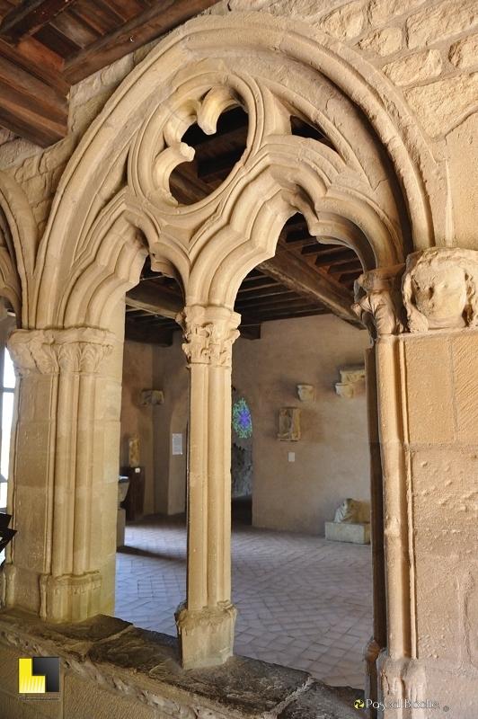 Arche gothique château comtal Carcassonne photo au delà du cliché pascal blachier