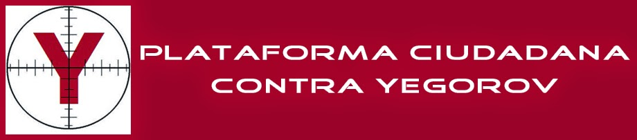 Plataforma Ciudadana Contra Yegorov