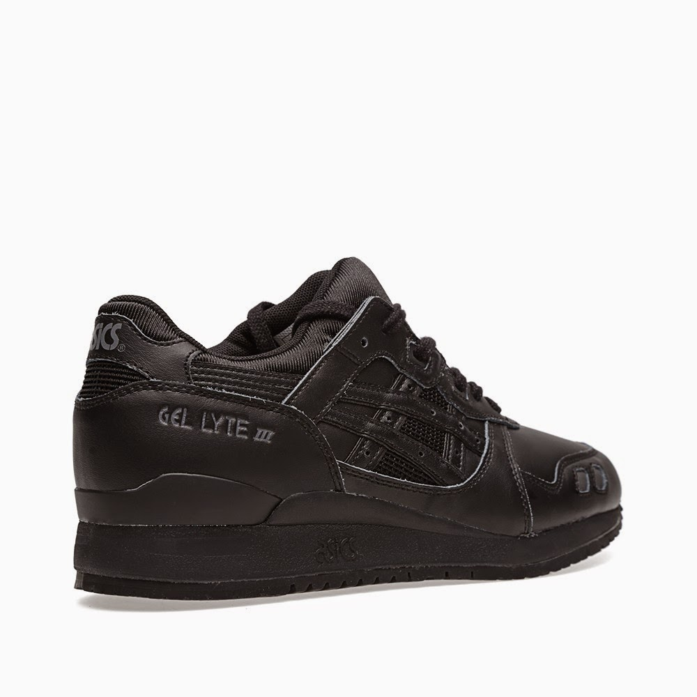 Asics Gel Lyte III Triple Black