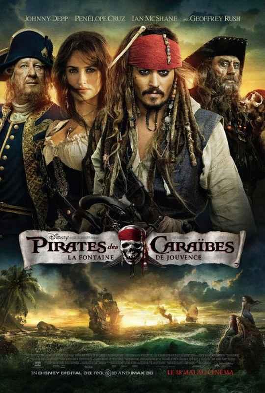Pirates des Caraïbes 4 : La fontaine de Jouvence de Disney (2011) Pirates+des+Caraibes+4