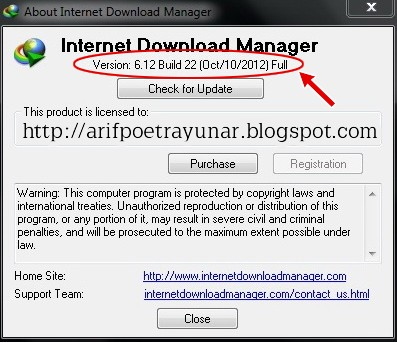 Internet Download Manager | IDM 6.12 Final Build 22 Full Version