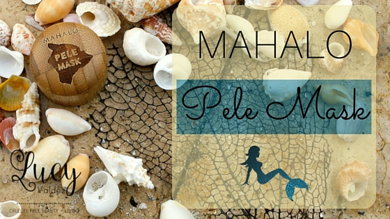 Blog title image for my Mahalo Pele Mask product review post
