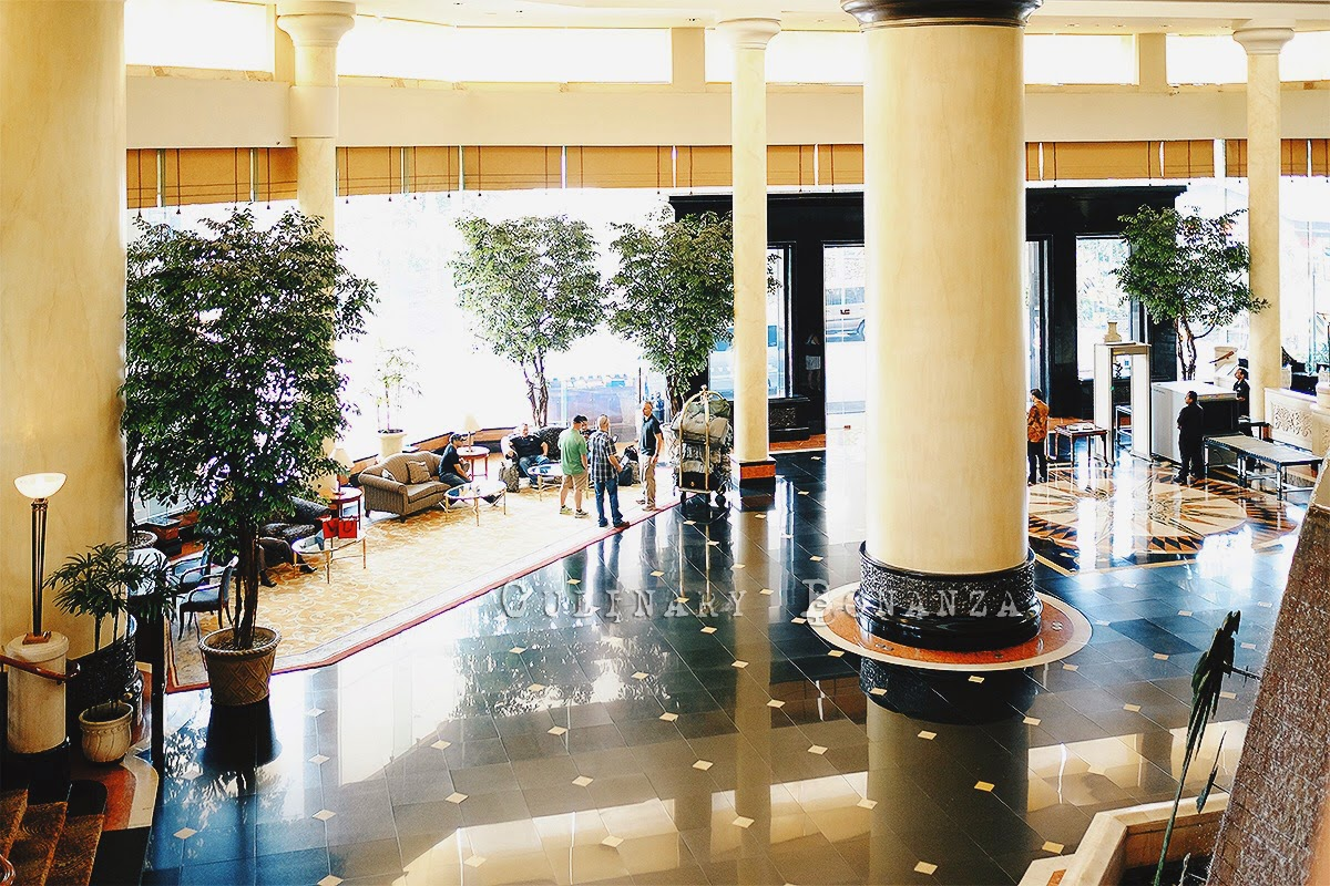 Lobby of JW Marriott Surabaya