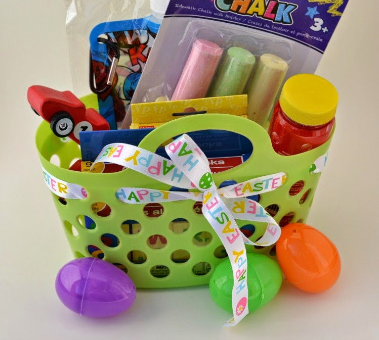 dollar store easter basket by Cordier Events