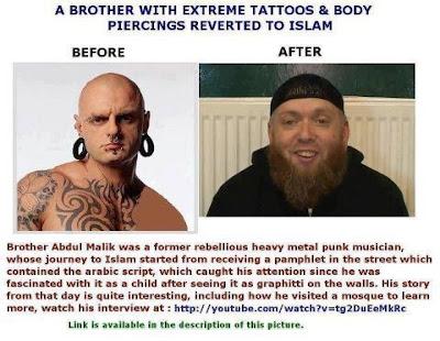 Dari Punk Metal Kini Berhijrah Memeluk Islam
