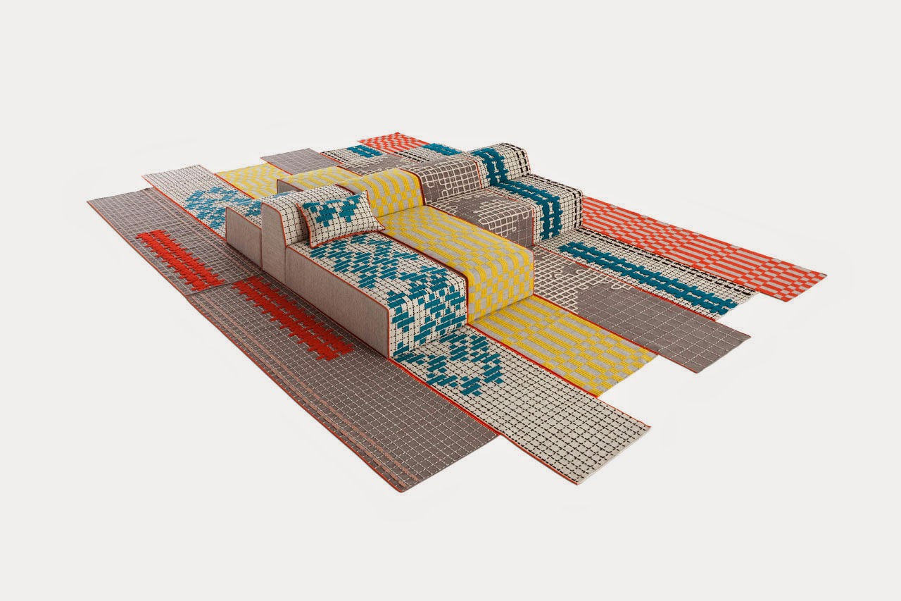Bandas Space Made Of Various Furniture And In Various Colors
