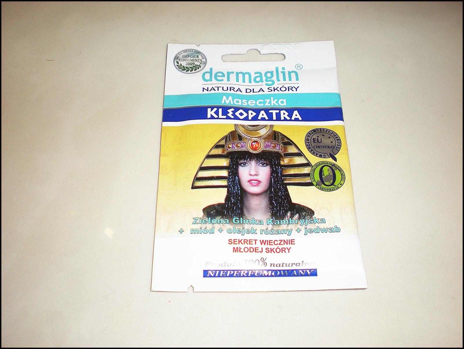 DERMAGLIN: Maseczka Kleopatra