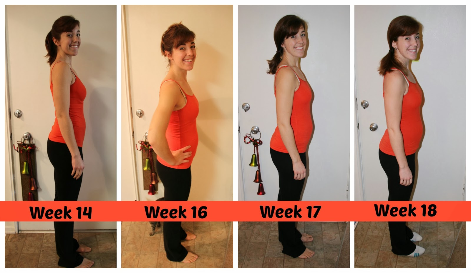 17 Weeks Pregnant Belly First Pregnancy