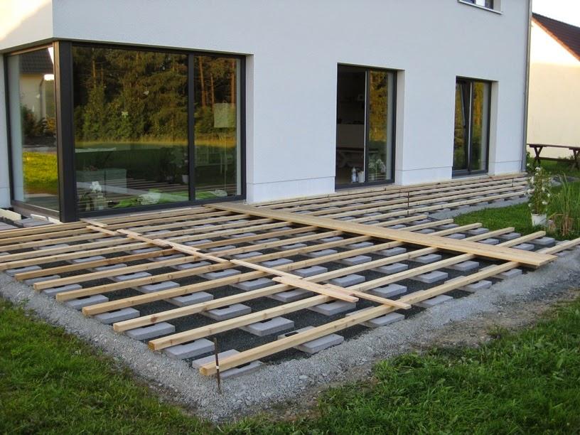 marios werkstatt: hausprojekt: terrasse - teil 2,