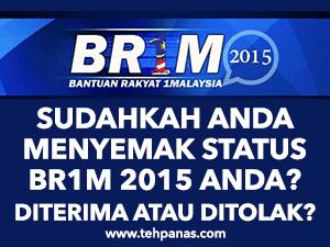 Thumbnail image for Cara Semak Status BR1M 2015 (Bantuan Rakyat 1 Malaysia 4.0)