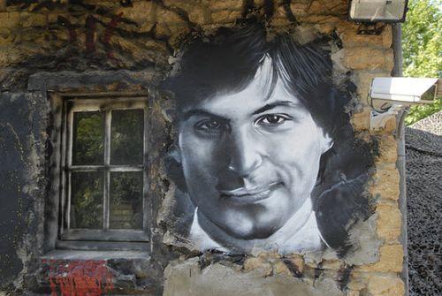 40 Lukisan Steve Jobs yang Mengagumkan: Steve Jobs (Painted Portrait)