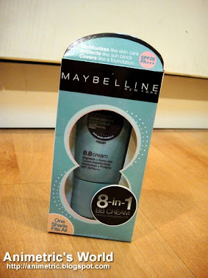 Maybelline Clear Smooth Minerals Instant Skin Perfecting BB Cream