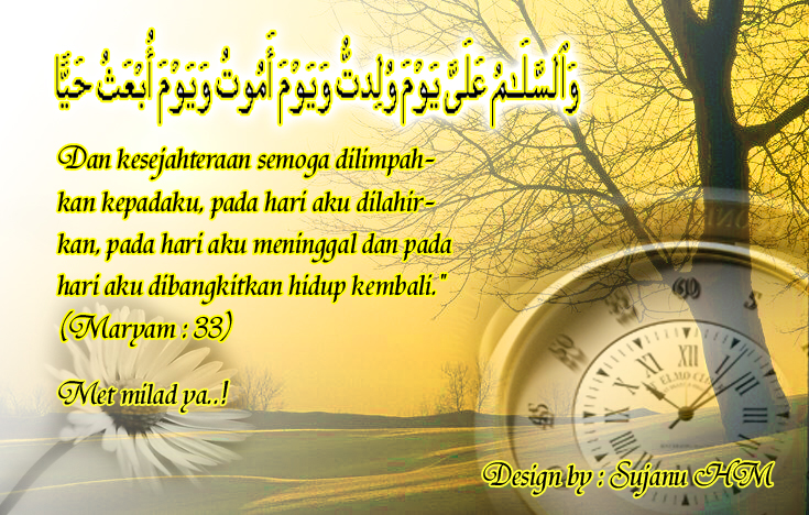 Sms kata ucapan selamat ulang tahun islami terlengkap terbaru