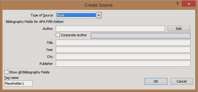 Pondok Microsoft Office: Membuat Daftar Pustaka Secara