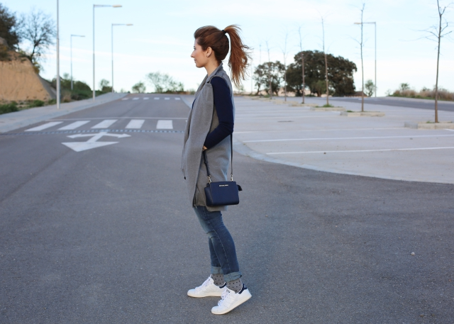 Comfy look with Stan Smith