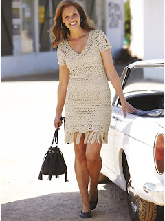 花样简单的连衣裙(8) - 柳芯飘雪 - 柳芯飘雪的博客