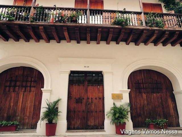 Fachada do Alfiz Hotel, centro histórico, Cartagena