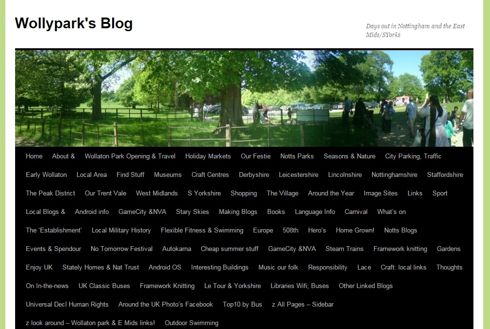Wolly Park - a local area web-blog
