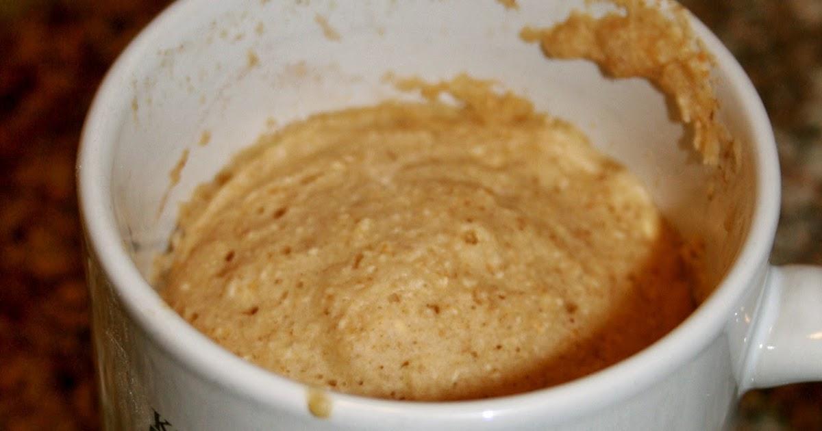 Oat Mug Cake No Egg