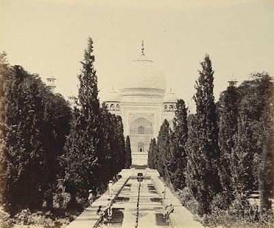 Taj Mahal foto antigua