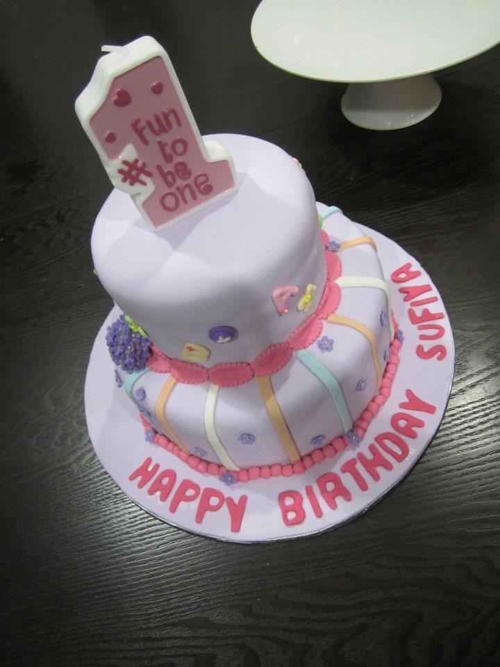two tier fondant cake price