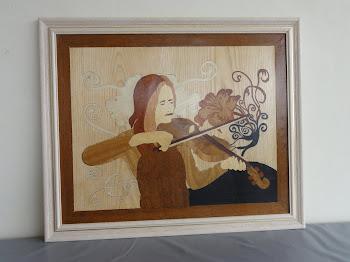 A violnista e a flor