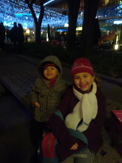 Top Ender and Big Boy at the Southbank Christmas Market London 2012