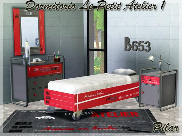 Empire sims 3 dormitorio le petit atelier by pilar for Le petit atelier