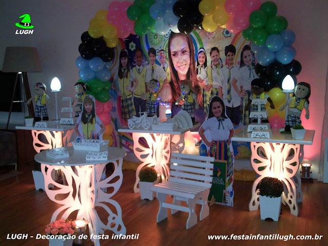tema Carrocel para decoração de festa infantil - Barra RJ
