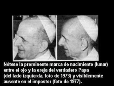 Los Cards.J-M.Villot; Benelli y Casaroli impusieron un doble a Paulo VI y lo secuestraron.