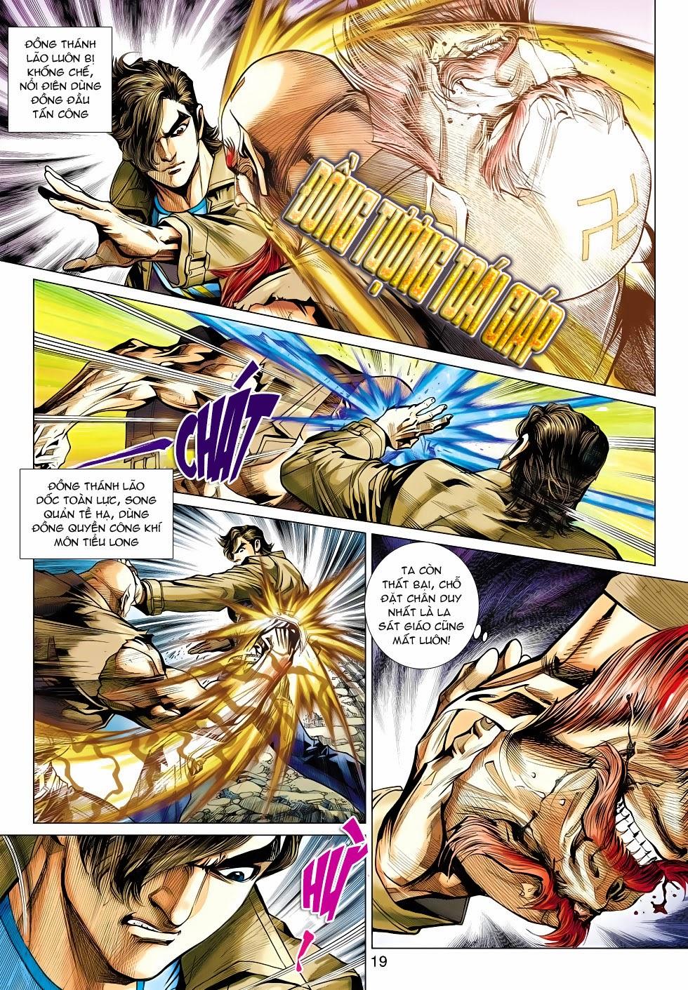 Tân Tác Long Hổ Môn chap 470 - Trang 19