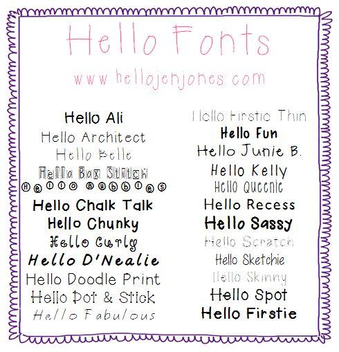 Free Grade One Fonts Autos Weblog