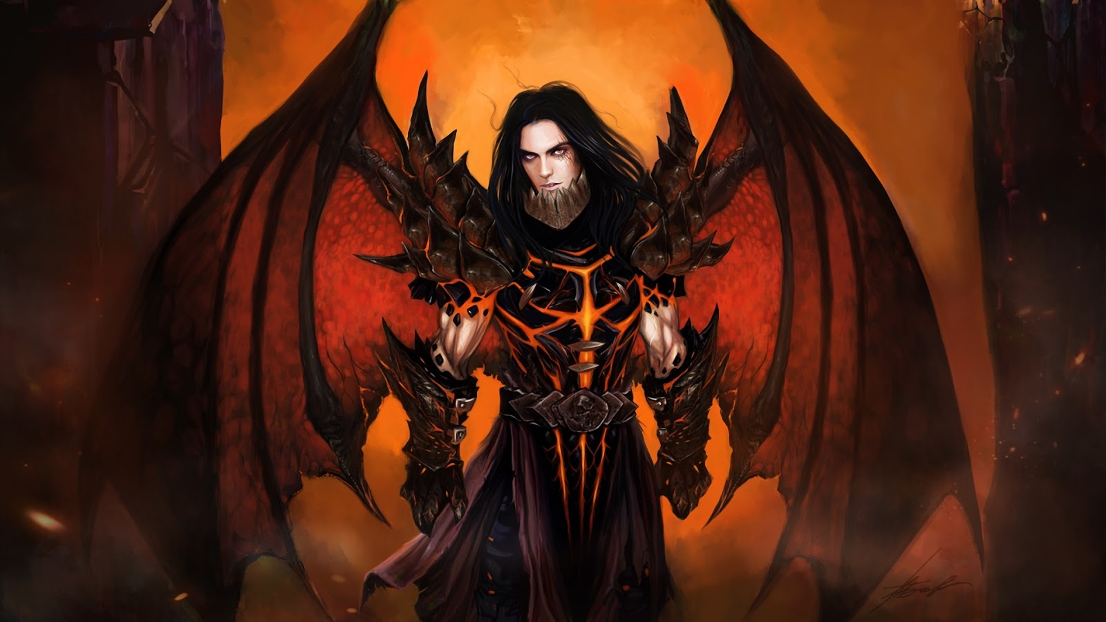 World of Warcraft Deathwing Human Form