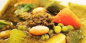 Sopa de pesto