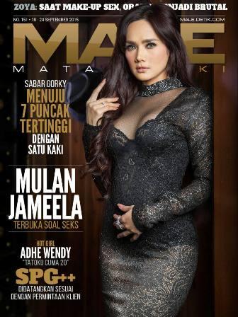 Download Majalah MALE Mata Lelaki Issue 152 - 2015 Mulan Jameela & Adhe Wendhy - Majalah MALE Edisi 152 | Mulan Jameela - Terbuka Soal Seks | www.insight-zone.com